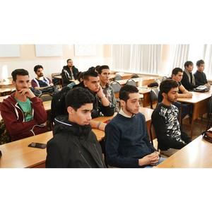 Встреча студентов Востока, Северной Африки с миграционной службой
