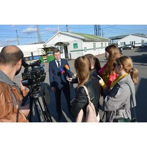 Смоленская таможня организовала пресс-тур для журналистов
