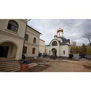 В Москве достроен храмовый комплекс св. царственных страстотерпцев