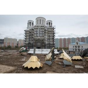 Храм Покрова Пресвятой Богородицы в Некрасовке достроят к концу года