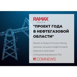 Проект в области Process Mining признан лучшим в нефтегазовой отрасли