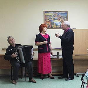 В Ставропольской психбольницы состоялся концерт трио «Мелодия»
