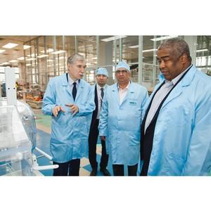 Производство медтехники «Швабе» посетила делегация Республики Суринам