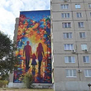 БФ «Сафмар» в г. Орске помог оформить фасады домов