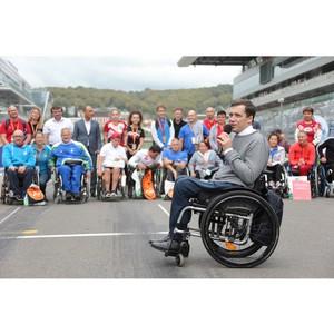 Состоялся V Международный полумарафон на спортивных колясках