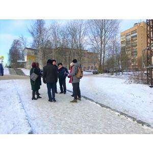 Активисты ОНФ в Карелии вышли в рейд по опасным школьным маршрутам