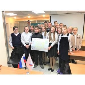 Активисты ОНФ в Карелии рассказали школьникам о безопасных дорогах
