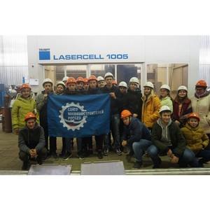 Школьников из Туринска познакомили с лазерными технологиями