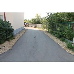 ОНФ в Мордовии проверил благоустроенные дворы в селе Кемля