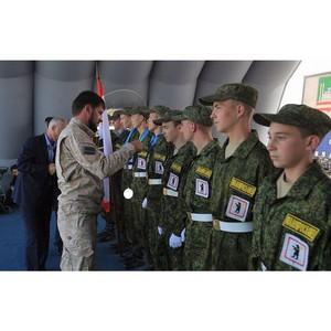 В Чечне определились победители военно-патриотической игры