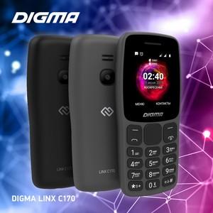 Ряды бюджетных телефонов Digma пополнила модель Linx С170