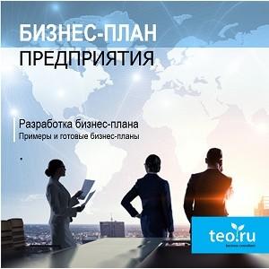 Разработка составление бизнес-плана предприятия, организации, компании