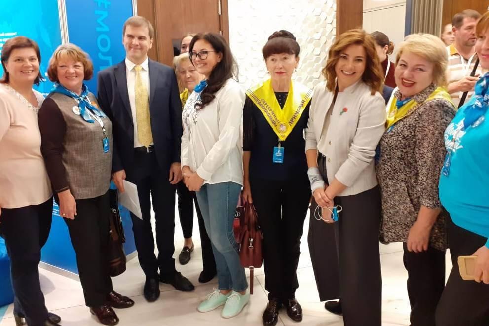 «Серебряные» волонтеры из Приморья отмечены на федеральном уровне