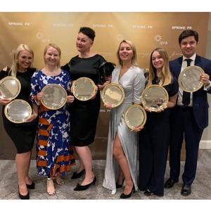 Агентства российской КГ «Орта» получили 6 наград премии IPRA GWA 2019