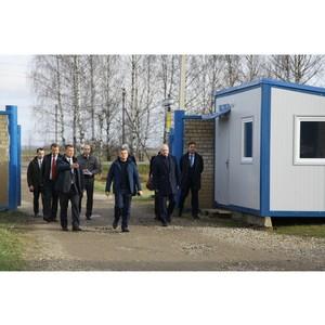 Игорь Маковский с рабочим визитом посетил Костромскую область
