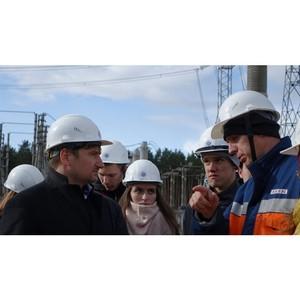 Студенты-энергетики ознакомились с возможностями подстанции «Южная»