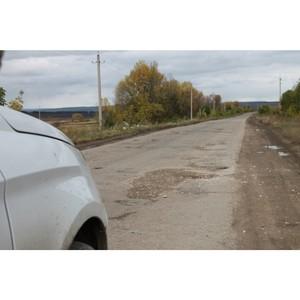Властей Мордовии просят завершить ремонт дороги к селу Татарская Тавла