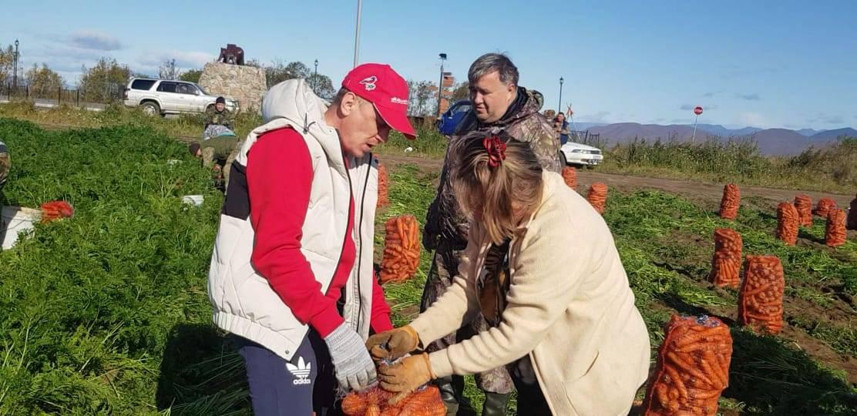 Общественники помогли многодетным семьям сделать запасы на зиму