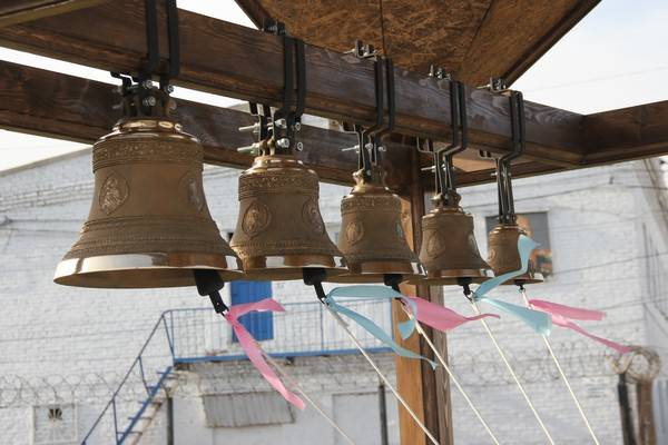 В ИК-44 ГУФСИН Кузбасса торжественно открыта звонница