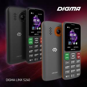 Всегда на связи с мобильным телефоном Digma Linx S240