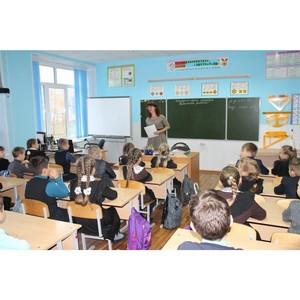 Ученикам Атемарской школы рассказали о безопасности дороги на учебу