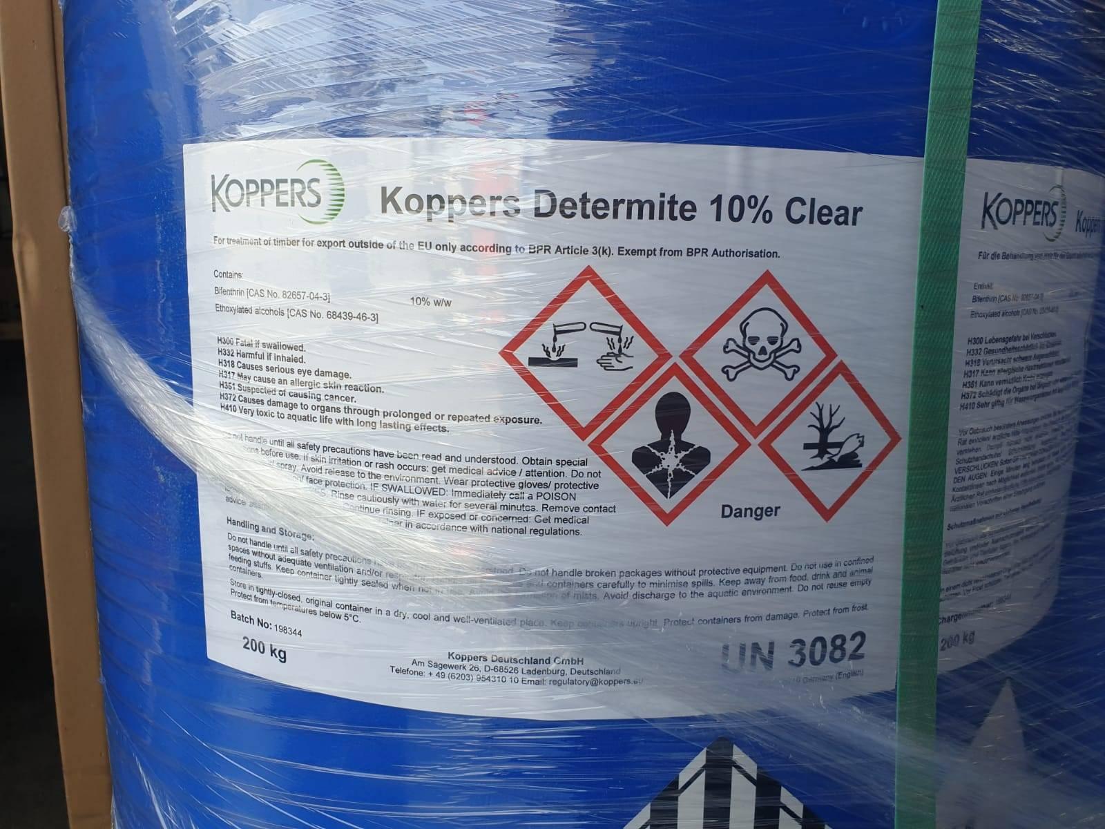 Koppers Determine Clear разработан для экспорта фанеры в Австралию