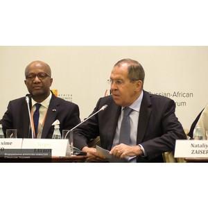 Лавров подписал соглашения по сотрудничеству с рядом стран Африки