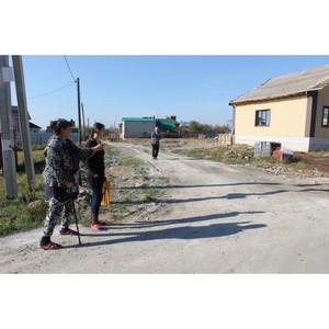 ОНФ призвал воронежские власти сделать дорогу к дому семьи инвалидов