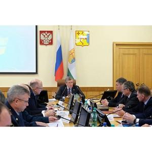 Совещание по обеспечению правопорядка в Кировской области