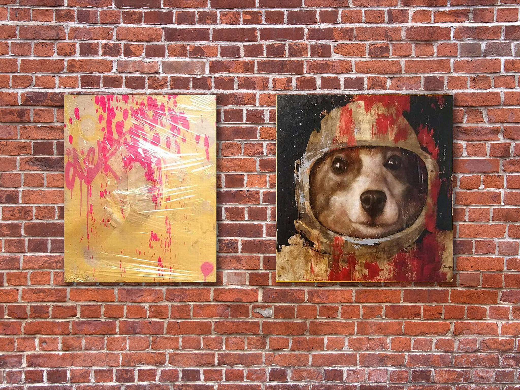 Выставка стрит-арта и граффити в Санкт-Петербурге