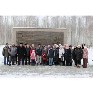Торжественное открытие городского парка Волчанска Свердловской области