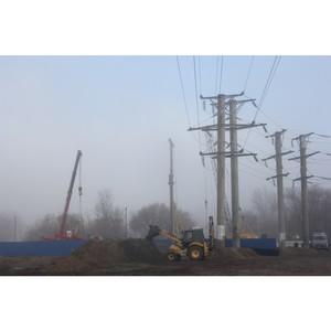 Воронежэнерго реконструирует высоковольтную линию в  Воронежа