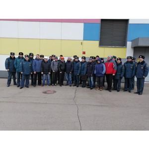 Нижегородские энергетики и спасатели провели тактическое занятие