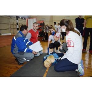 Cоревнования по оказанию первой помощи среди допризывной молодежи