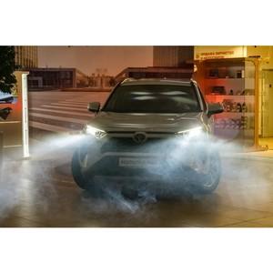 «Балтийский лизинг» стал участником презентации Toyota RAV4 в Кургане