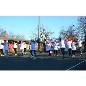 «Стальное дерево» открыло спортплощадку в селе Белгородской области