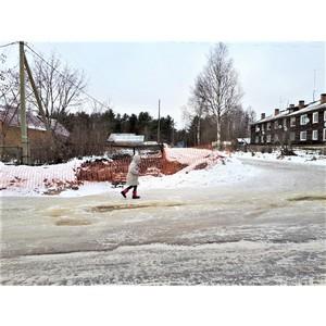 ОНФ призвал власти Карелии обезопасить раскопанный перекресток в Пряже