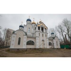 На юге столицы возводится храм в честь святителя Николая Мирликийского