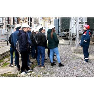 В Рязаньэнерго прошла экскурсия для студентов