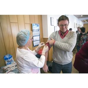Стойленцы привиты от гриппа в рамках программы вакцинации