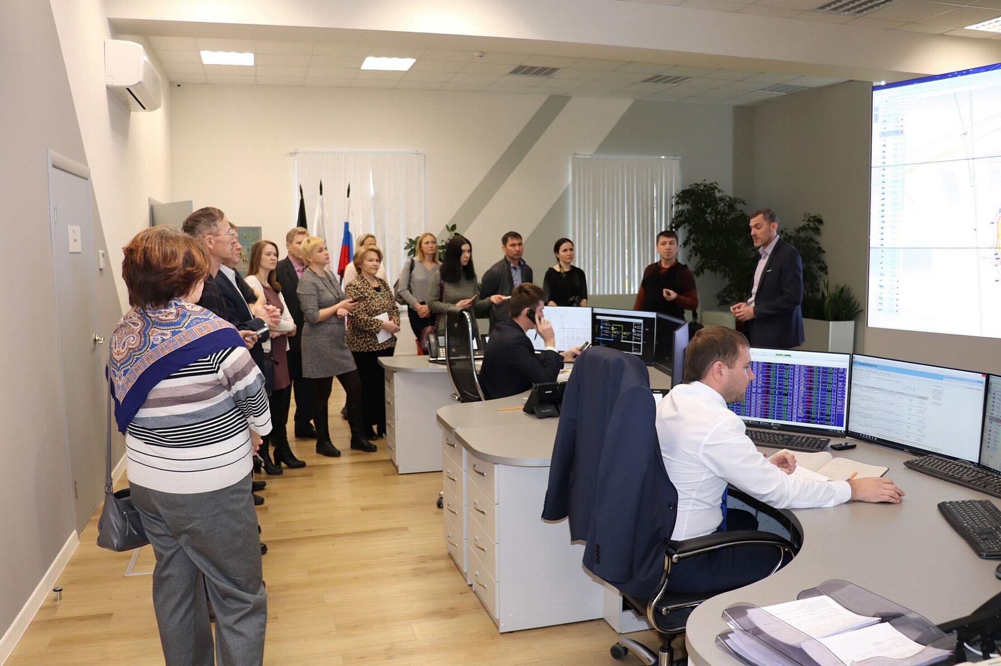 Журналисты ознакомились с цифровыми объектами Удмуртэнерго