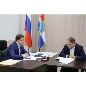 Предварительные итоги реализации нацпроектов в Самарской области