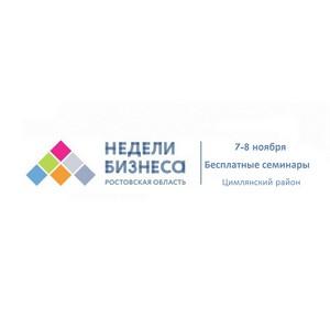 Недели бизнеса для МСП в Цимлянском районе Ростовской области