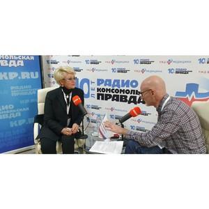 Открытая студия Радио «Комсомольская правда» на Медсовете ОАО РЖД