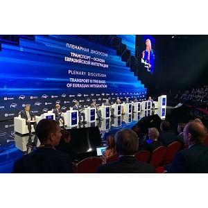 Сотрудники «УралАвтодора» участвуют в XIII форуме «Транспорт России»