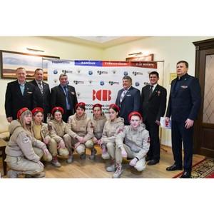 В России прошли мероприятия по патриотическому воспитанию учащихся