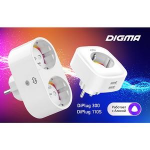 Digma DiPlug 110S и DiPlug 300: умный дом начинается с розетки