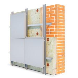 Материалы для облицовки фасадов — композитные панели Фасст