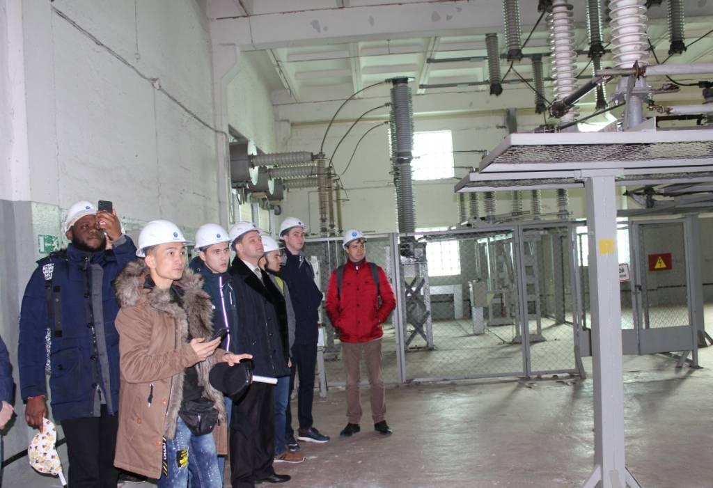 В Воронежэнерго провели экскурсию для студентов агроуниверситета