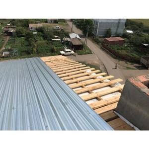 В Сакмарском районе Оренбуржья завершается капремонт жилых домов